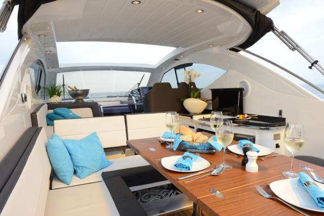 Motoryacht-Charter ohne Skipper